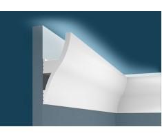 Карниз для скрытого освещения KX002, 120х53