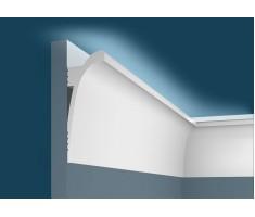Карниз для скрытого освещения KX003, 120х45