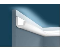 Карниз для скрытого освещения KX024, 55х50