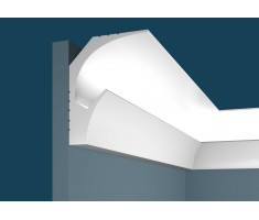 Карниз для скрытого освещения KX025, 115х90