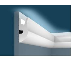 Карниз для скрытого освещения KX026, 95х42