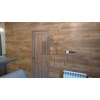 ПВХ плитка AquaFloor на стене у наших клиентов
