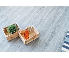 Каменно-полимерная плитка ПВХ Alpinefloor CLASSIC Ясень ЕСО 134-6
