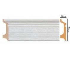 Плинтус напольный D122-1070 ( 2400 × 78 × 21 )