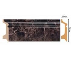 Плинтус напольный D122-713 ( 2400 × 78 × 21 )