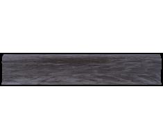 Плинтус для пола пластиковый LinePlast 58 Граб Тёмный L039