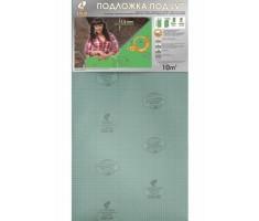 Подложка листовая зеленая 1,5 мм под LVT покрытия, уп. 10 кв. м